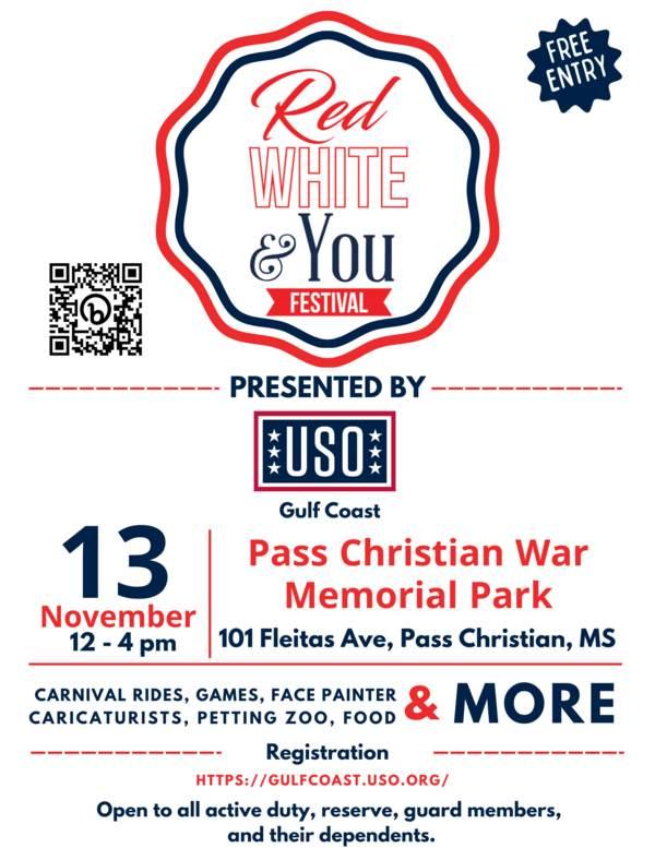 USO Gulf Coast\'s Red, White, & You Festival • USO Gulf Coast