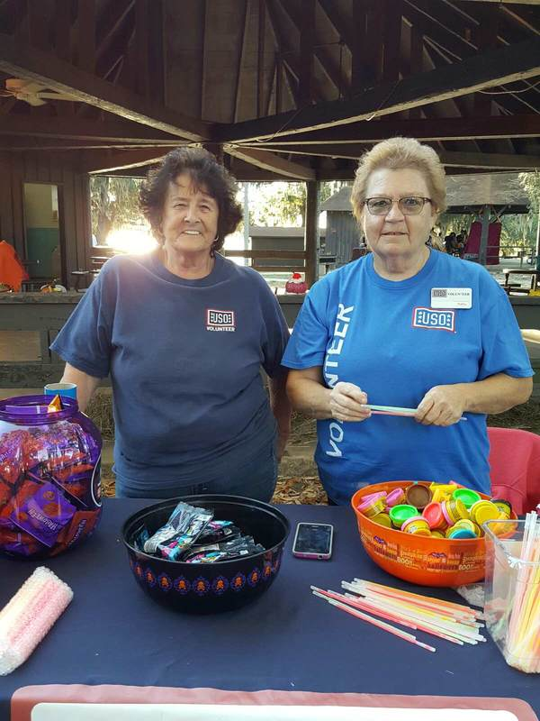 Ghouls in the Park on Keesler Air Force Base • USO Gulf Coast